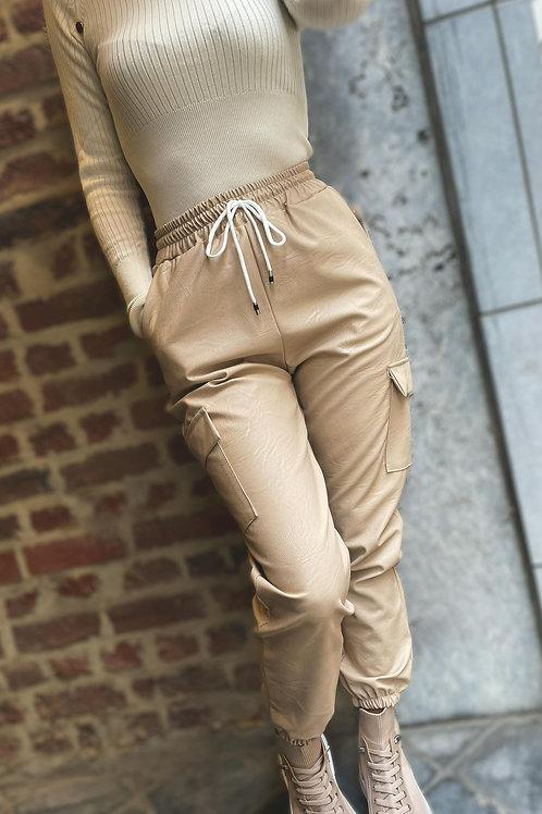"Pantalon ""Carly"" - beige"