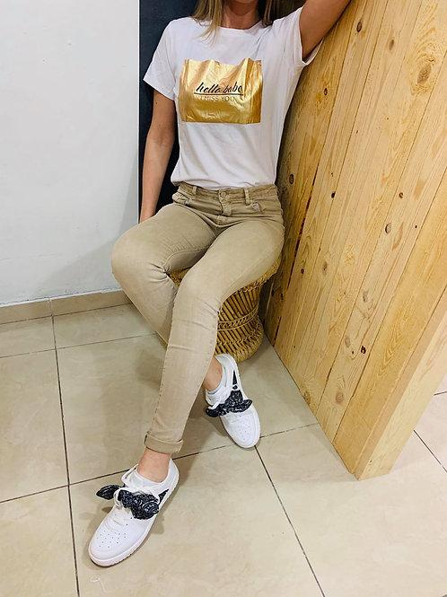 "T-shirt ""Horia"" - blanc"
