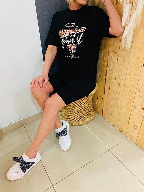 """T-shirt """"Zila"""" - noir"""
