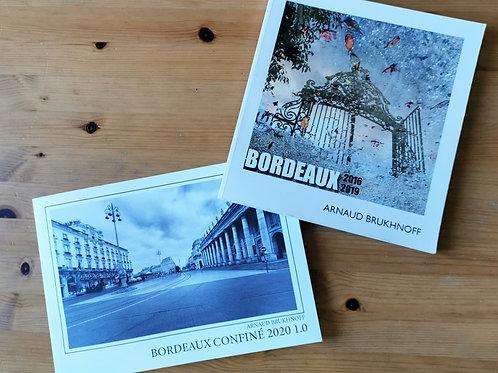 Lot 2 Livres Bordeaux Confiné et Bordeaux 2016-2019