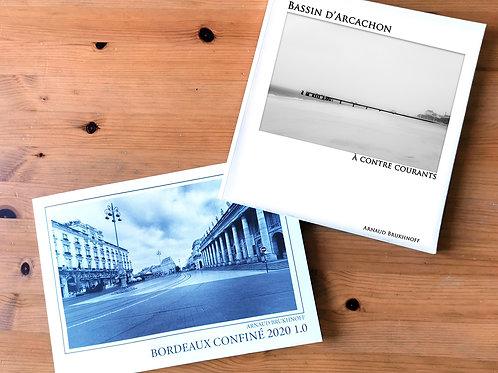 Prévente  2 Livres Bordeaux Confiné et Arcachon à Contre-Courants