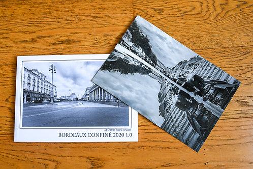 Livre Bordeaux Confiné 2020 1.0 et tirage  1/50 signé 20x30cms