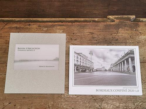 2 Livres Bordeaux Confiné et Arcachon à Contre-Courants