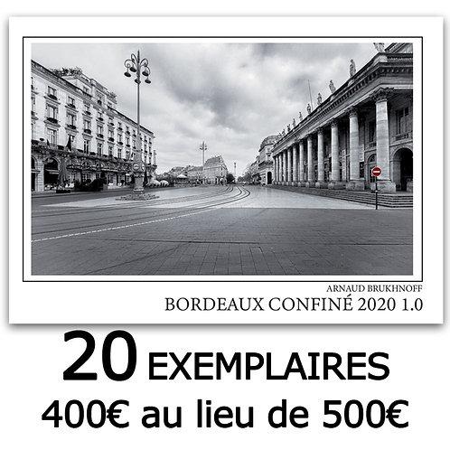 Promo Caisse de 20 Livres Bordeaux Confiné 2020 1.0 livré CUB