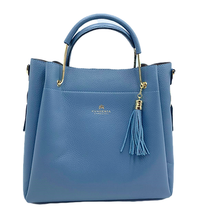 Modern Classic Tote - Click to view more color options - Cow Leather