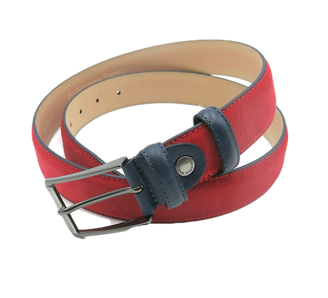 Suede Belt - Click to view more color options - Cow Leather