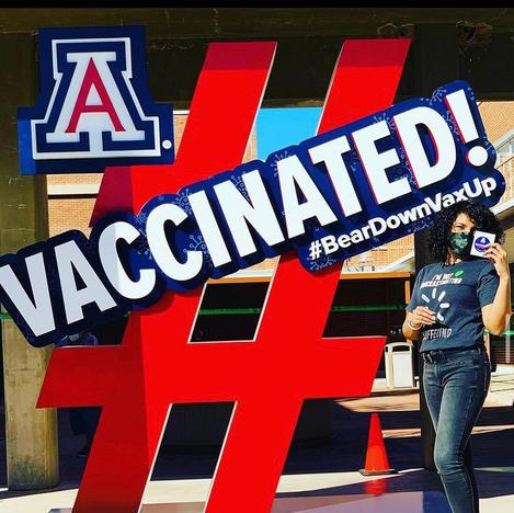 Vaccinated! Photo Sculpture