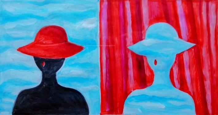 """Opera di Raffaella Tommasi Titolo : La vita difficile di una donna """"facile"""""""