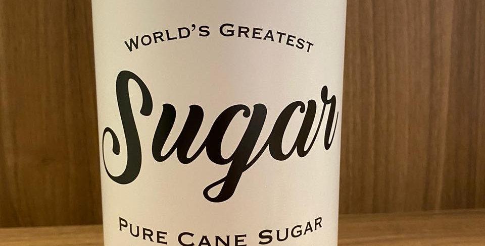 Lata metal Sugar