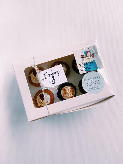 Box of 6 x cupcakes