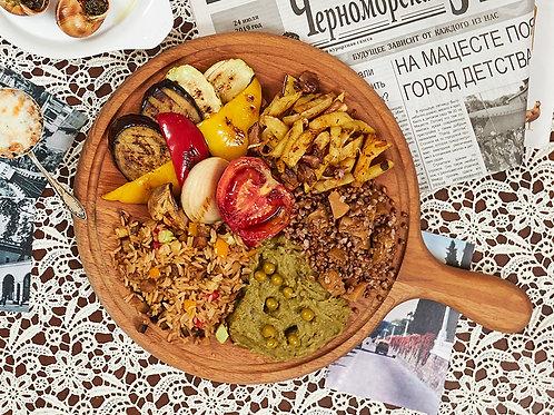Рис, жаренный с овощами