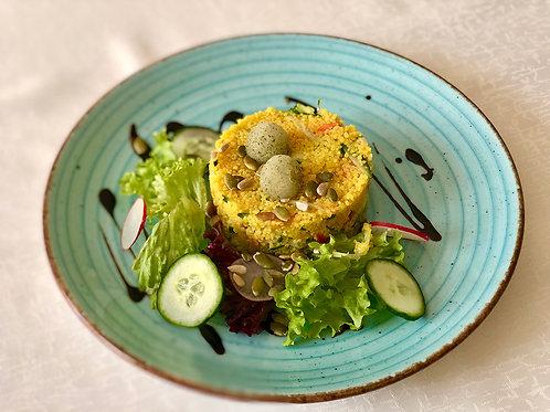 Кус-кус со свежими овощами