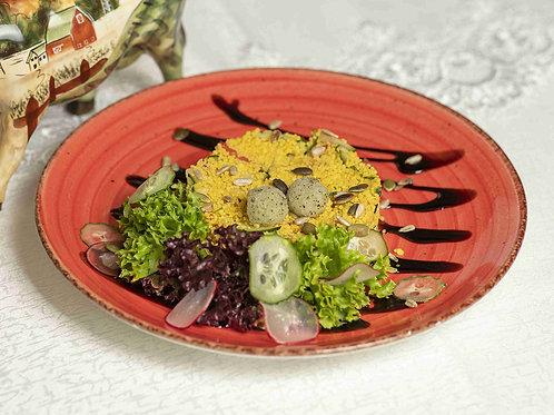 Кускус со свежими овощами
