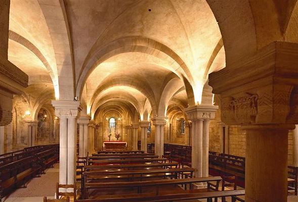 La crypte orientale dédiéé à Notre Dame de Verdun