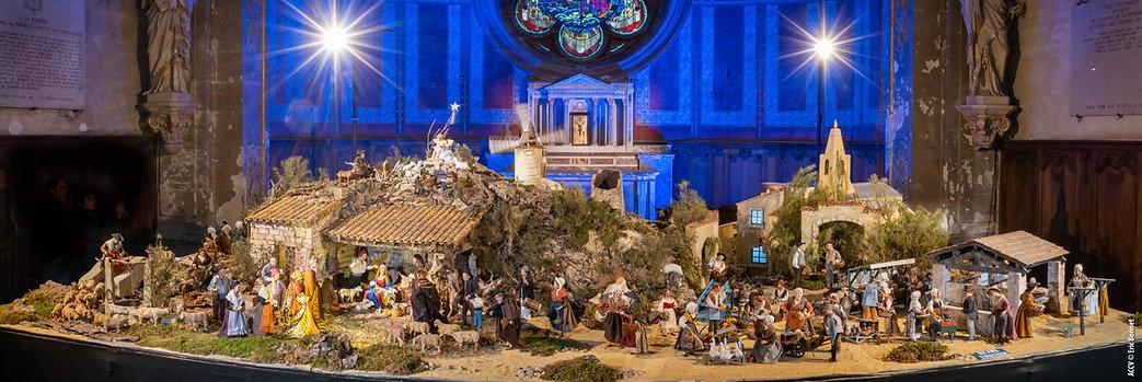 Crèche de Notre Dame de Paris à la Cathédrale de Verdun
