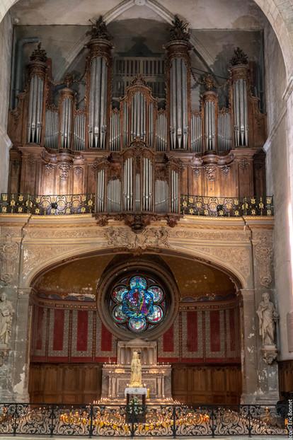 Ode à la Paix vue de l'orgue