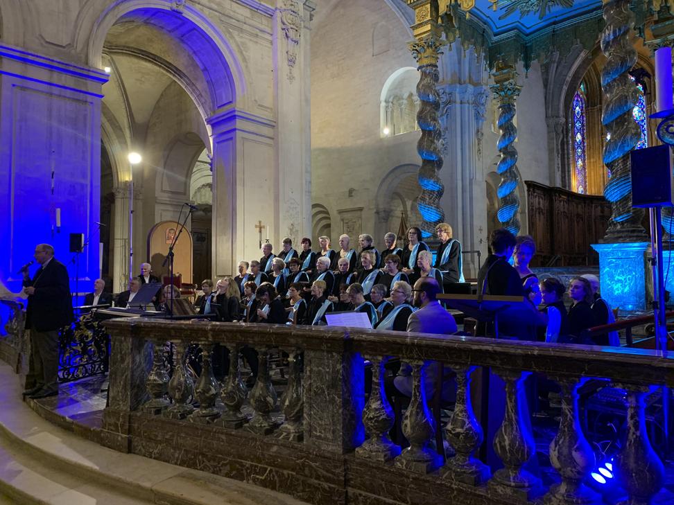La Chorale des Eaux Vives sous la direction de Marie Aurore Picard le 13 octobre 2019