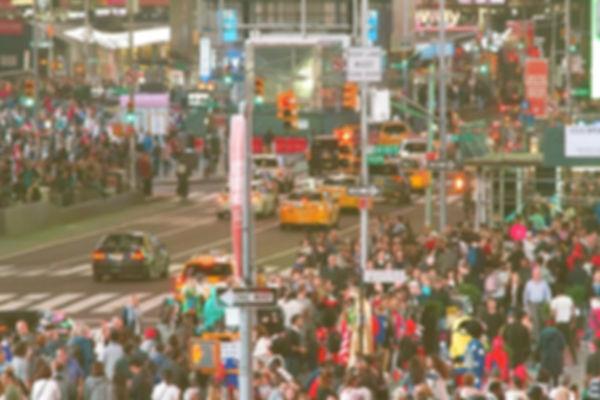 city traffic, crowd