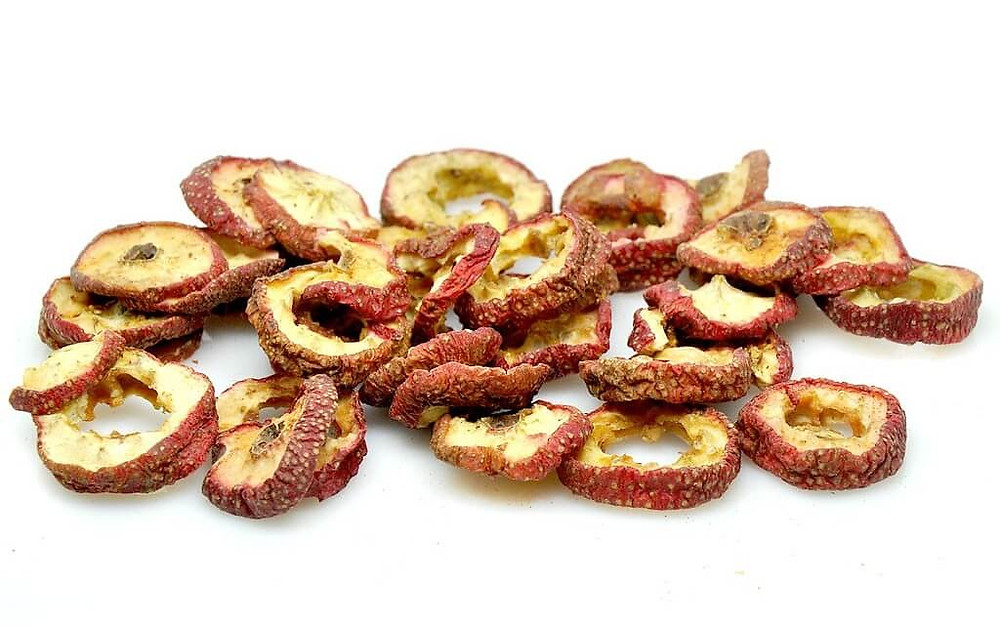 Dried sliced Hawthorn Berry