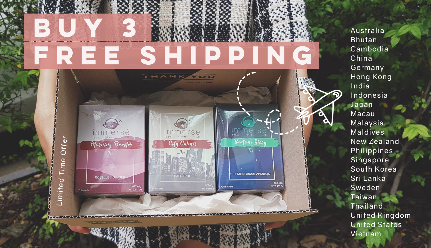 Herbal tea Free Shipping on purchase of 3 Boxes!