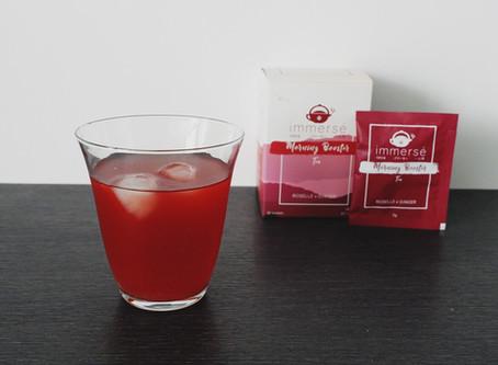Recipe: Cold Serve Lemonade Roselle and Ginger Tea