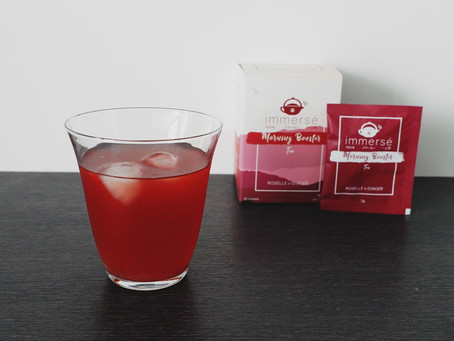 Recipe: Cold Serve Lemonade Roselle and Ginger Tea