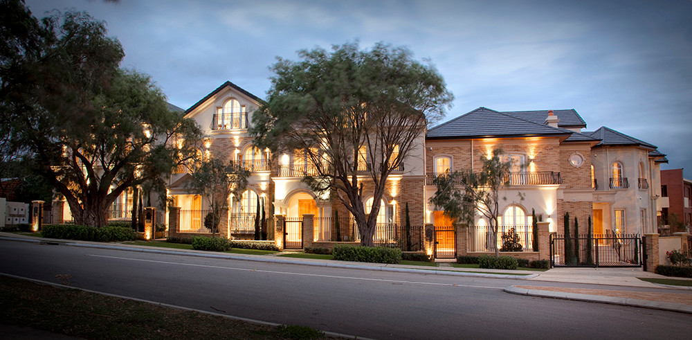 Peppermint Grove - Front Elevation