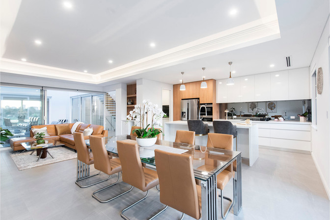 Burswood - Living and Dining