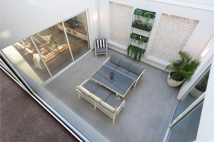 Burswood - Internal Courtyard