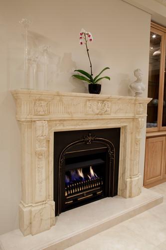 Peppermint Grove - Plaster Fireplace