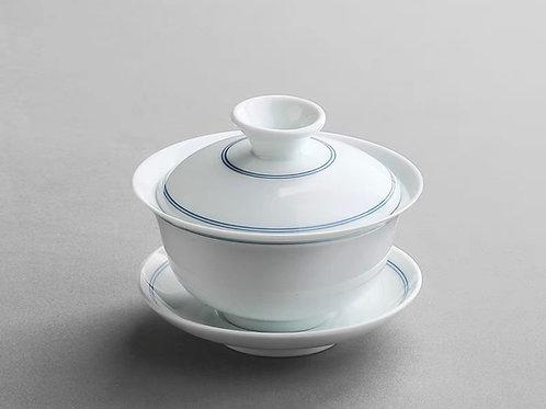 Blue & White Gaiwan Set | 青花瓷品茗套裝