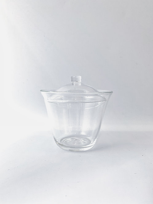 Glass Gaiwan (Tea Bowl)。玻璃蓋碗