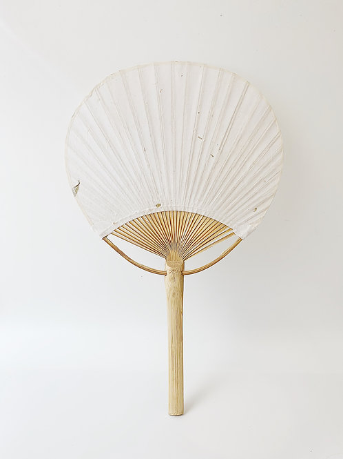 Traditional Paper Fan。傳統紙扇