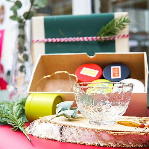 Assorted Japanese Tea & Teaware Gift Set。日本茶和茶具禮盒