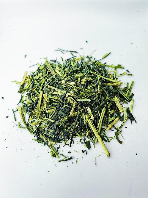 Kukicha (Twig Tea)。莖茶