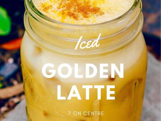 Iced Golden Latte [RECIPE]