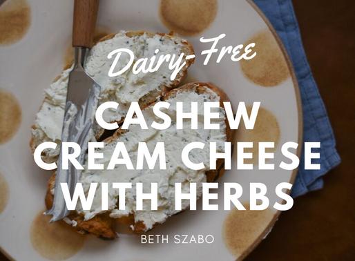 Dairy-Free Cashew Cream Cheese [RECIPE]