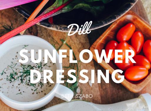 Dill Sunflower Dressing [RECIPE]