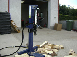10tonne hydraulic log splitter