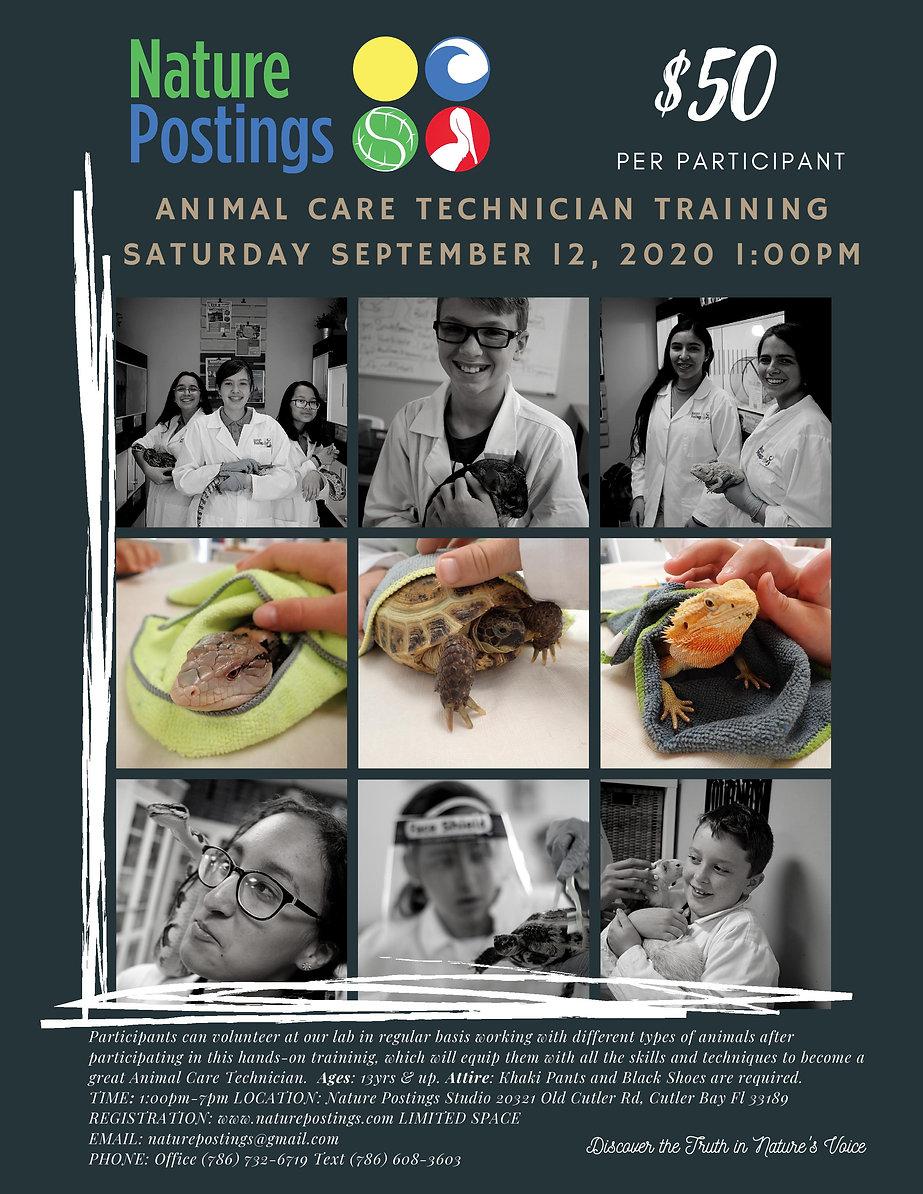 Animal Care Technician Training 2020 .jp