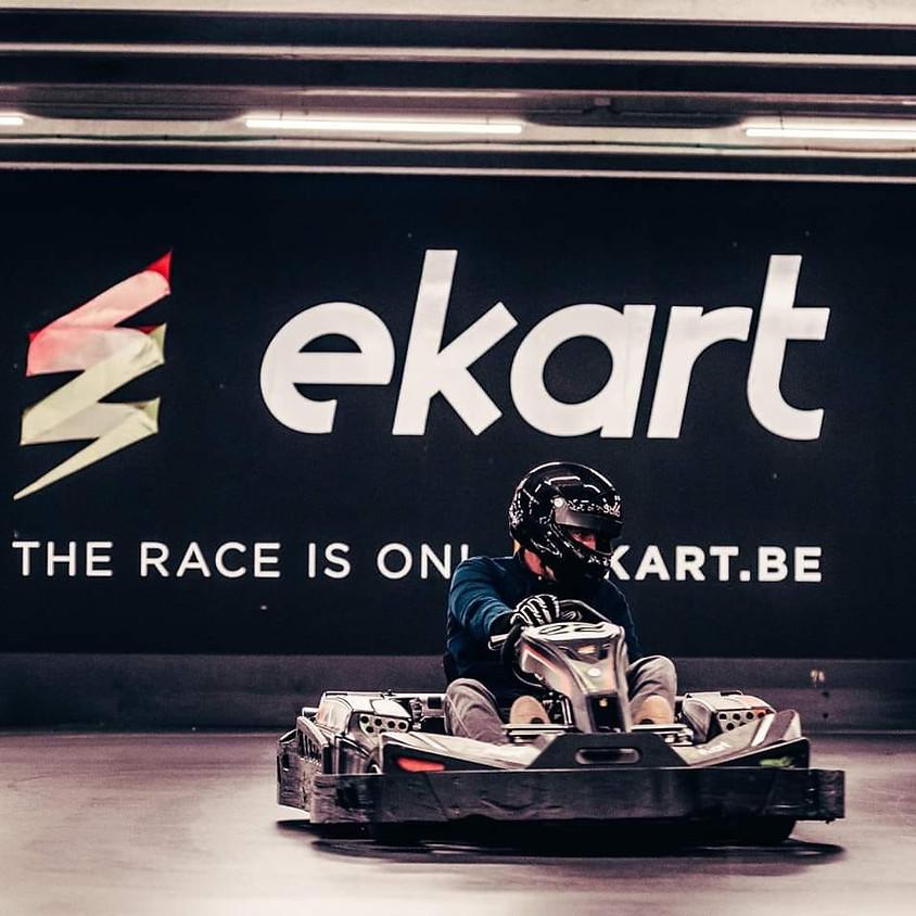 Adrenaline rush tijdens E-Karting in Gent, 28-44j