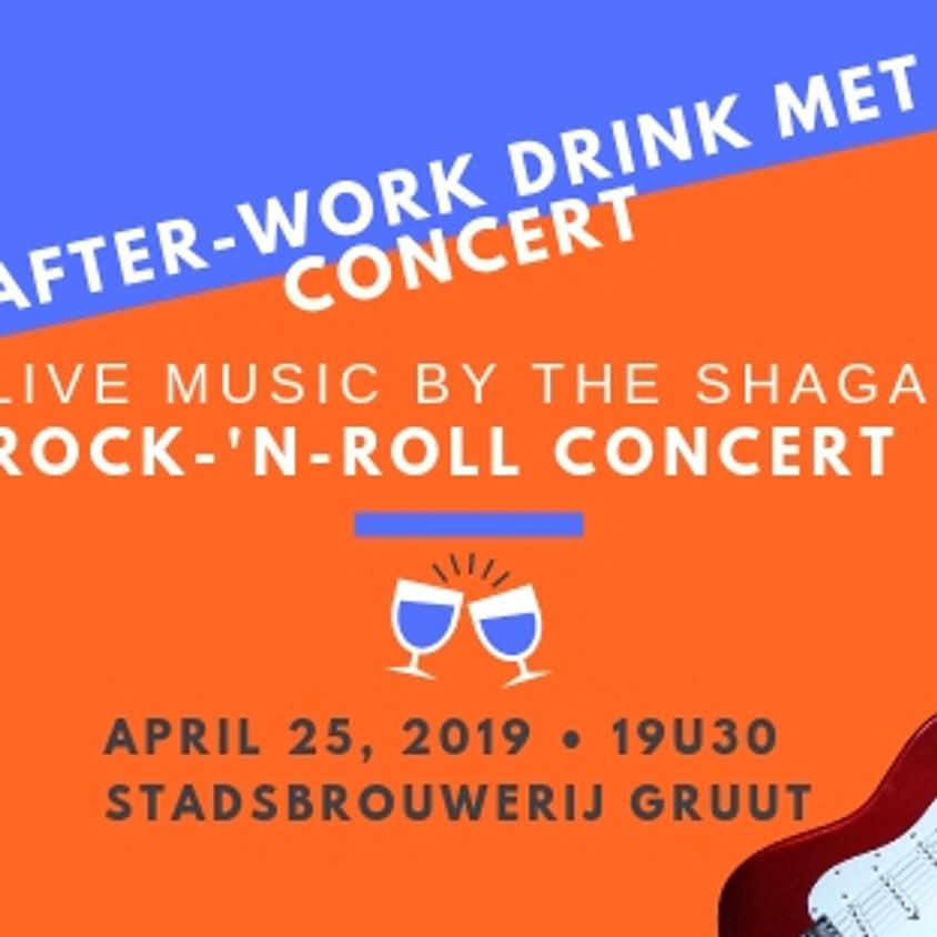 After-work drink met concert