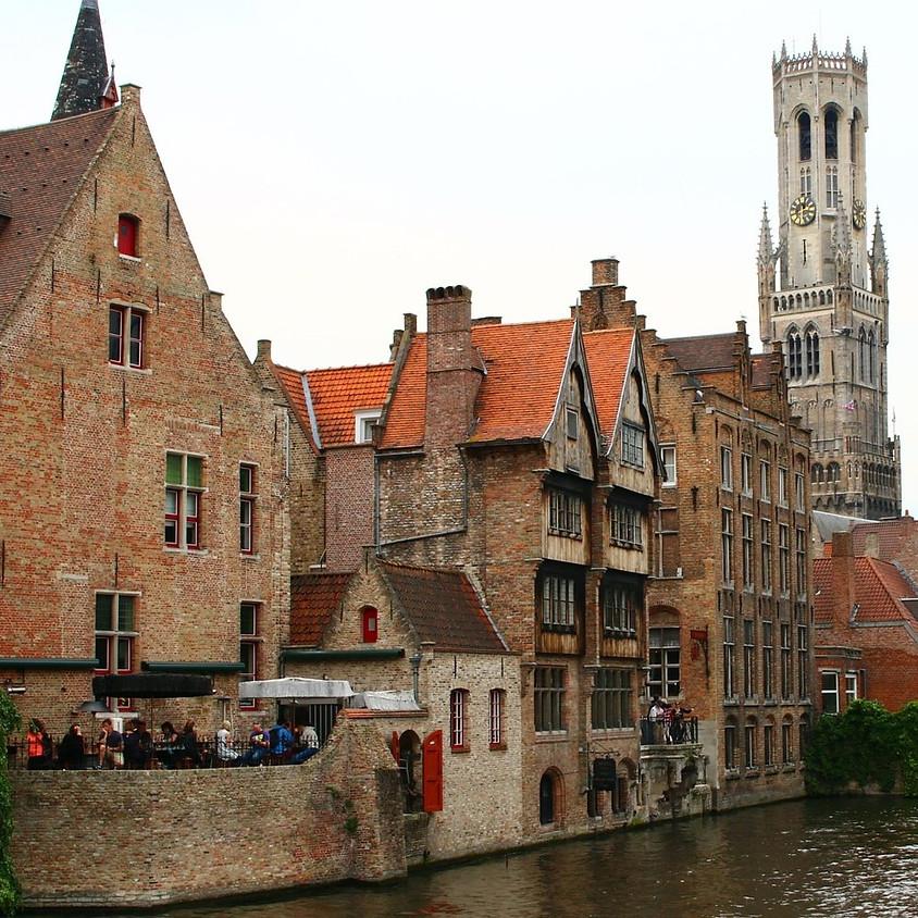 Proevertjes wandeling in Brugge