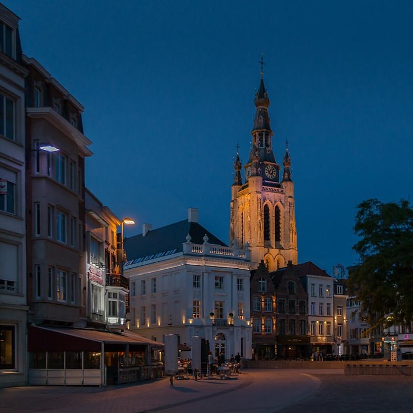 In de voetstappen van de nachtwacht, wandeling met gids in Kortrijk - geannuleerd