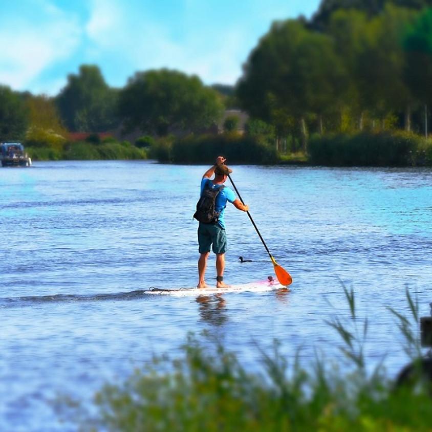 SUPpen op Blaarmeersen - fun en sportief waterevent! Leeftijd (30-45jaar)