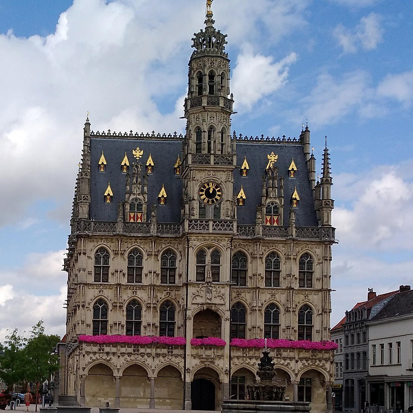 Bezoek aan Unesco werelderfgoed Stadhuis van Oudenaarde