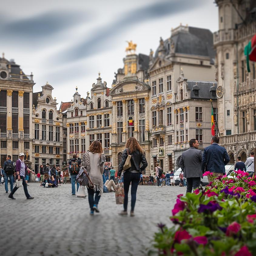 Marollen wandeling in Brussel, leeftijd (35-49j en iedereen boven 50j)