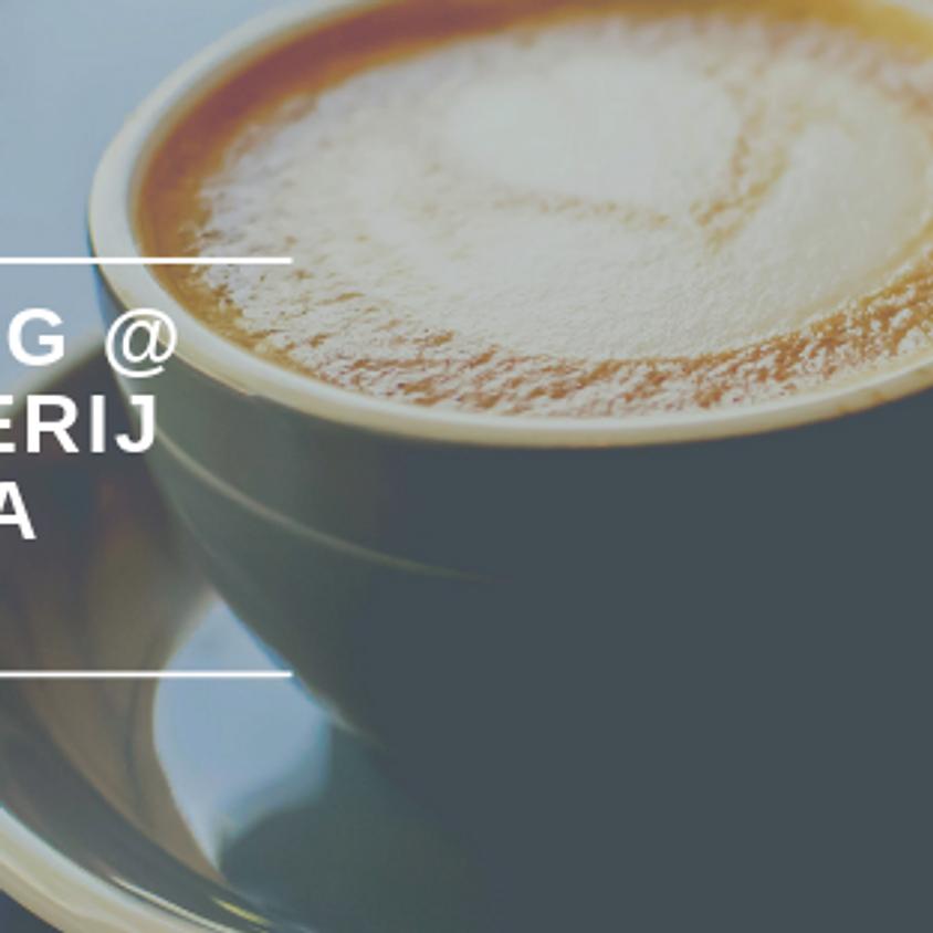 Coffie tasting met verwennerij en rondleiding koffiebranderij @ Café Gusta