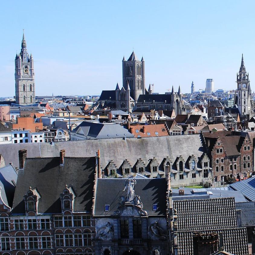 Bezoek aan het belfort van Gent