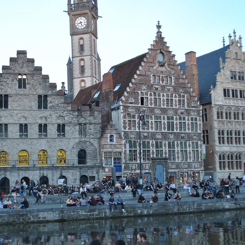 Het Havenhuis in Gent bezoeken en aansluitend tapas gaan eten.